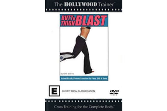 Butt & Thigh Blast Tighten Tone Shape Burn Calories Fast Exercise