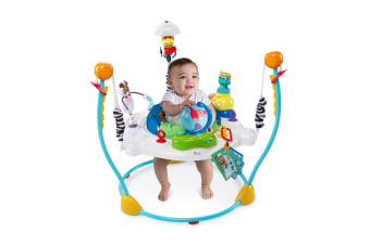 Baby Einstein Journey of Discovery Activity Jumper w/ Sounds/Toys/Tray for Baby