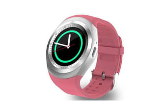 """TODO Bluetooth V3.0 Smart Watch 1.54"""" Lcd Blood Pressure Heart Rate - Pink"""