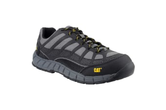 Caterpillar Streamline S1P Safety Footwear / Mens Shoes (Charcoal) (8 UK)