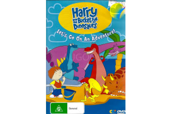 HARRY AND THE BUCKET FULL OF DINOSAURS -Animated Series DVD NEW