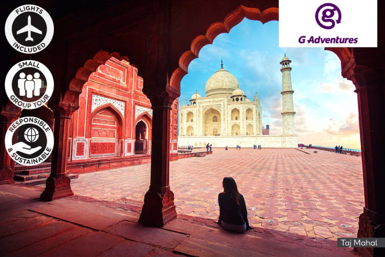 INDIA: 8 Day Golden Triangle Tour Including Flights For One (Twin Share)