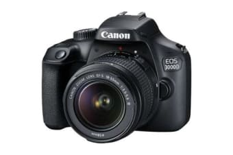 New Canon EOS 3000D 18MP (18-55 III) Lens Kits Digital Camera (FREE DELIVERY + 1 YEAR AU WARRANTY)