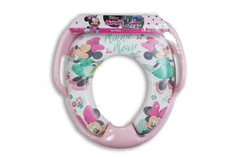 Disney Minnie Soft Potty Kids/Toddler Training for Most Toilet Seats