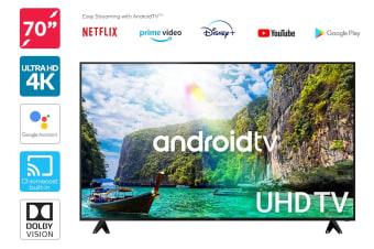 "Kogan 70"" Smart HDR 4K LED TV Android TV™ (Series 9, XU9210)"