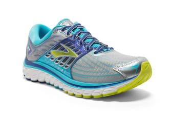 Brooks Women's Glycerin 14 (Silver/Blue Atoll/Lime)