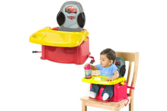 Disney Cars Portable Foldable Baby/Child High Chair Booster Feeding Harness Seat