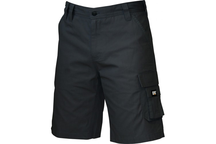Caterpillar C1820916 DL Shorts / Mens Shorts (Black) (Waist 38 inch)