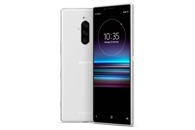 New Sony Xperia 1 Dual SIM 128GB 4G LTE Smartphone White (FREE DELIVERY + 1 YEAR AU WARRANTY)