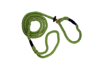 The Animate Company Outhwaites Gun Dog Rope Slip Lead (Olive)
