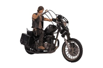The Walking Dead Daryl Dixon with Chopper Action Figure Set