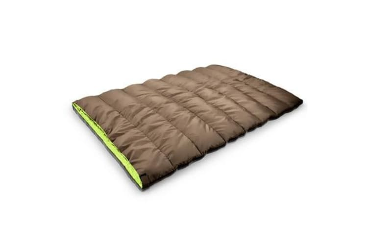 Double Outdoor Camping Sleeping Bag Hiking Thermal Winter 220x145cm