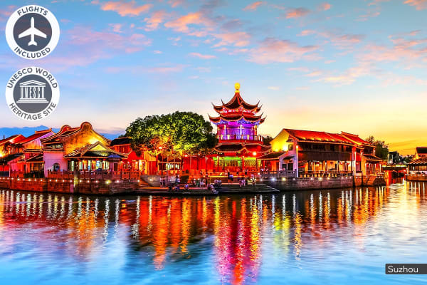 CHINA: 10 Day China Discovery Tour Including Flights for Two