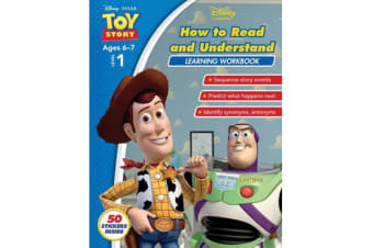 Disney Toy Story - How to Read and Understand Learning Workbook Level 1