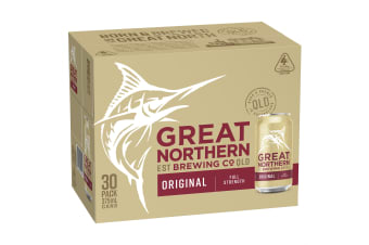 Great Northern Brewing Co. Original 30 x 375mL Cans