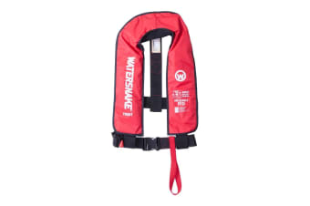 Red Watersnake Manual Inflatable PFD - Level 150 Adult Life Jacket