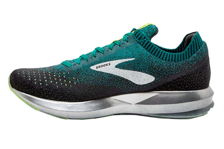 Brooks Men's Levitate 2 (Black/Teal/Navy, Size 10.5)