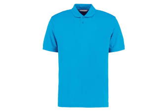 Kustom Kit Mens Regular Fit Workforce Pique Polo Shirt (Turquoise) (XL)