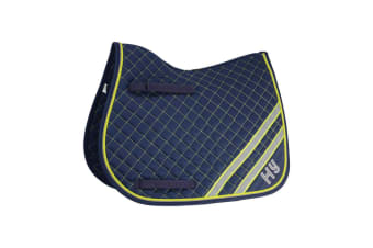 HyWITHER Reflector Saddle Pad (Fluorescent Yellow/Silver)