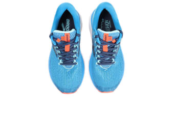Brooks Women's Ghost 11/FA18 (Blue/Navy/Coral, Size 7.5)