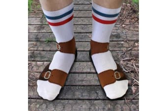 Sandals Socks: Socks That Look Like You`re Wearing Sandals!