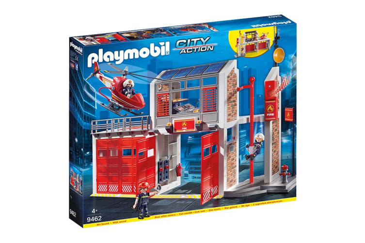 Playmobil City Action Fire Station Playset