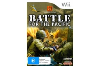 Battle for the Pacific Nintendo Wii GAME GREAT CONDITION