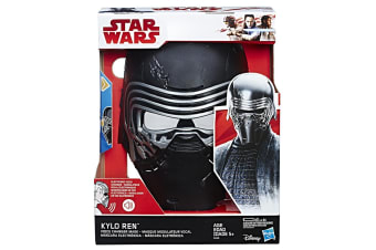 Star Wars Episode 8 Kylo Ren Electronic Mask