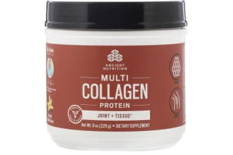Dr. Axe / Ancient Nutrition Multi Collagen Protein Joint + Tissue - Natural Vanilla 226g