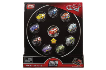 Cars Micro Racers 10 Pack Assortment