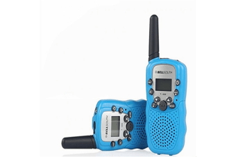 Retevis RT-388 22 Channel FRS/GMRS Rechargeable Walkie Talkies for Kids Blue