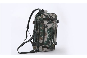 55L Hiking Camping Bag CAMOUFLAGE