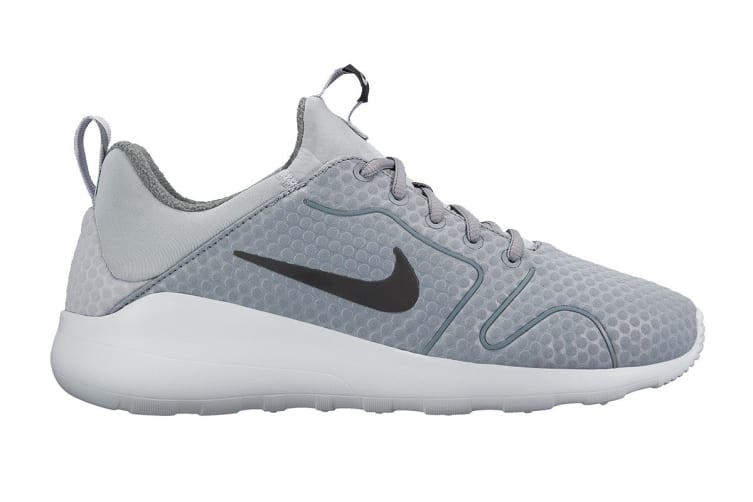 Nike Men's Kaishi 2.0 SE Running Shoes (Grey/Black/Pure Platinum, Size 9 US)