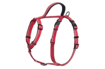 Halti Walking Harness (Red) (35-48cm)
