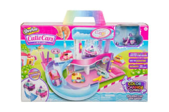 Cutie Cars Shopkins Splash-n-Go Colour Change Spa Playset