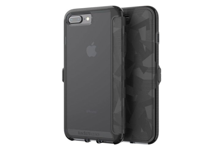 more photos 9b26b 04349 Tech21 Evo Wallet Case For iPhone 8 Plus / 7 Plus - Black