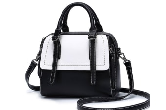 Purse And Handbag For Women Top Handle Satchel Tote With Removable Strap Black
