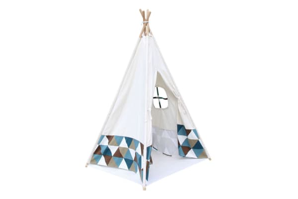 4 Poles Teepee Tent with Storage Bag