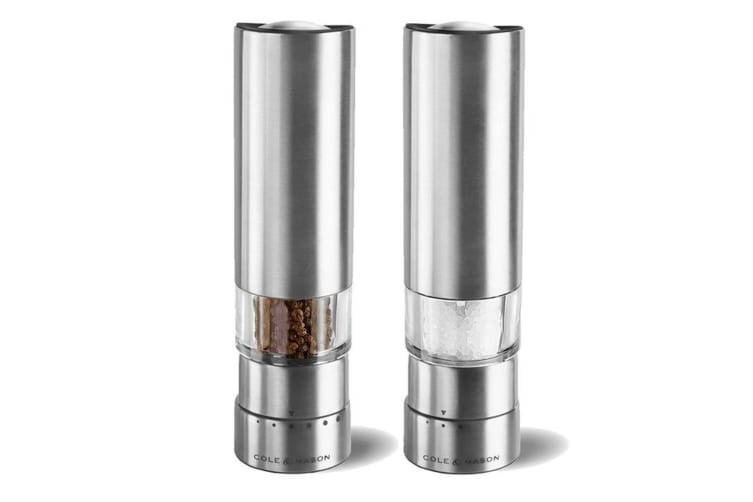 Cole & Mason Electronic Salt And Pepper Mills - Greenwich