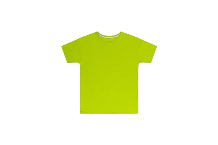 SG Childrens Kids Perfect Print Tee (Lime) (5-6 Years)