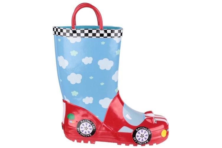 Cotswold Childrens Puddle Boot / Boys Boots (Racer) (28 EUR)