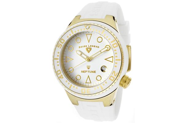 Swiss Legend Women's Neptune (SL-11044D-YG-02-WHT)