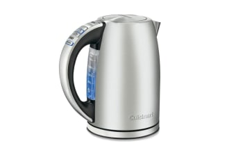 Cuisinart CPK-17A 1.7L Programmable Cordless Electric Kettle LED Stainless Steel