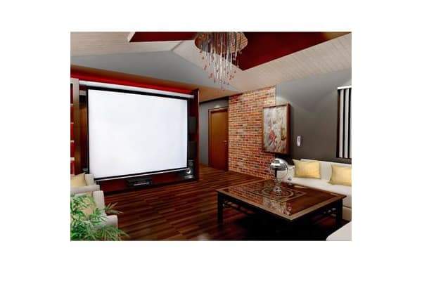 "150"" Electric Motorised Projector Screen TV +Remote"