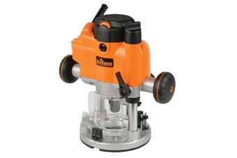 "TRITON TOOLS PRECISION DUAL MODE PLUNGE ROUTER 1/2"" & 1/4"" JOF001 1010 WATT NEW"