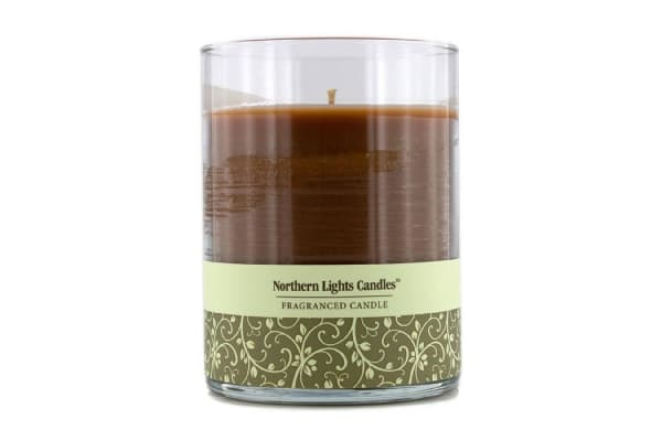 Northern Lights Candles Fragranced Candle - Warm Cinnamon Buns (4.5 inch)
