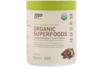 MusclePharm - Organic Superfoods, Unflavoured
