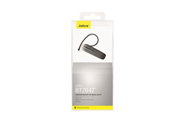 Jabra Bluetooth2047 Headset (Black)