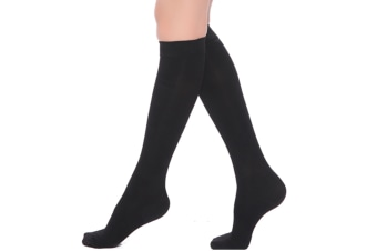 Unisex Compression High Socks Calf Support Comfy Relief Leg Stocking
