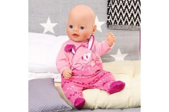 Baby Born Romper Clothing Set - Pink
